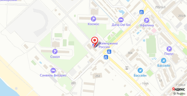 Отель Дача del Sol на карте