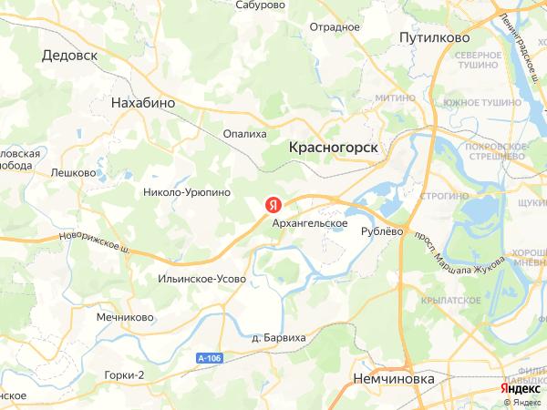 Новорижское шоссе, 23-й километр, вл2с1