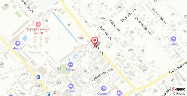 Гостевой дом Хан Бархан на карте