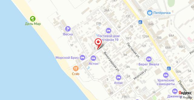 Гостиница Баунти на карте