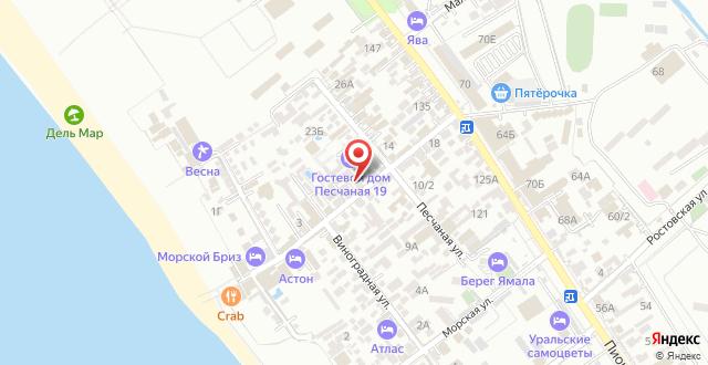 Гостиница Сибирь Джемете на карте