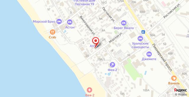 Мини-отель Тихая гавань на карте