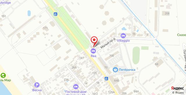 Гостиница Дель Мар на карте