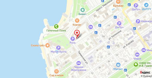 Санаторий Русь на карте
