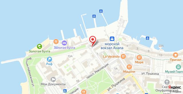 Отель Адмирал на карте
