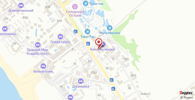 Отель Валенсия на карте