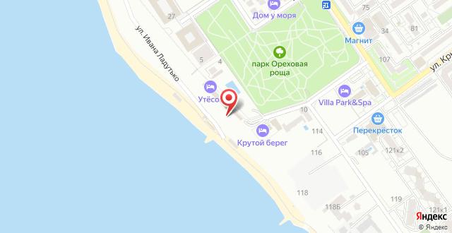 Отель Утесов на карте