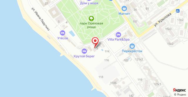 Гостевой дом Ореховая роща на карте