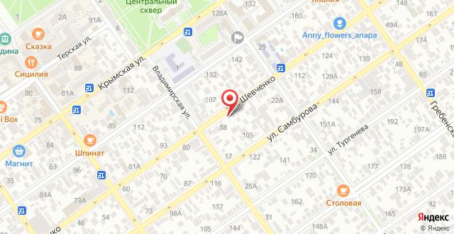 Мини-гостиница Светлана на карте