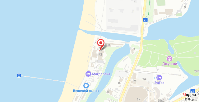 Отель Родина на карте