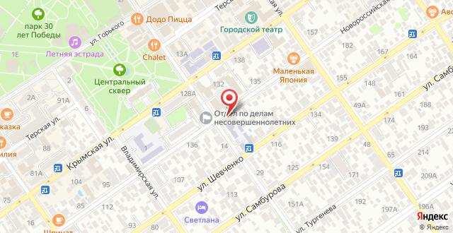 Отель Якорь на карте