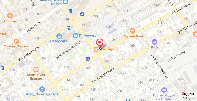 Отель Каравелла на карте