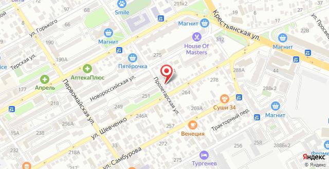 Гостевой дом Ася на карте