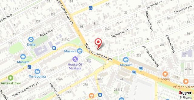 Гостиница Заря на карте