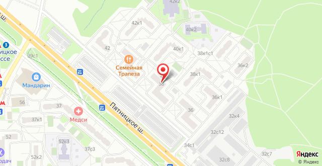 Гостевой дом Крокус Митино на карте