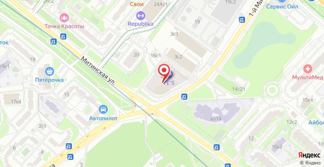 Апарт-отель Ye's на карте