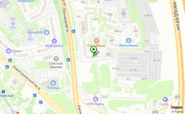 Сбербанк Москва шоссе Пятницкое 6 карта