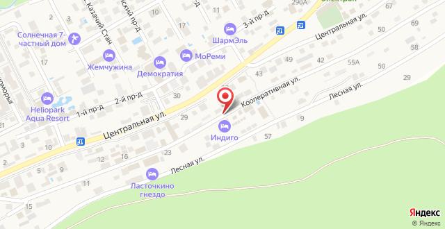 Гостиница Магеллан на карте