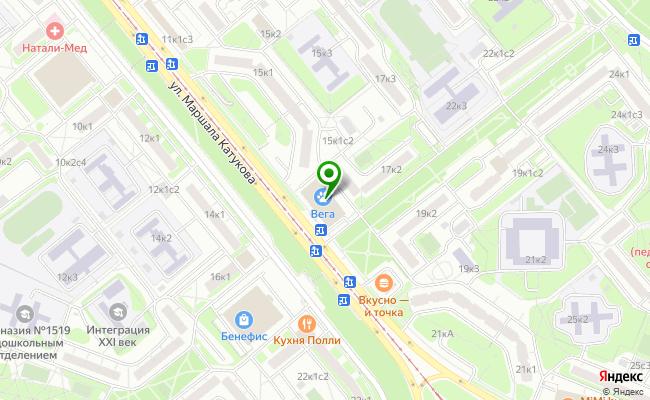 Сбербанк Москва ул. Маршала Катукова 17, корп.1 карта