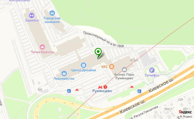 Сбербанк Москва п.Московский, шоссе Киевское, 22-ой км. 4, стр.1 карта