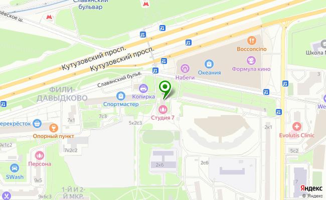 Сбербанк Москва бульвар Славянский 3 карта