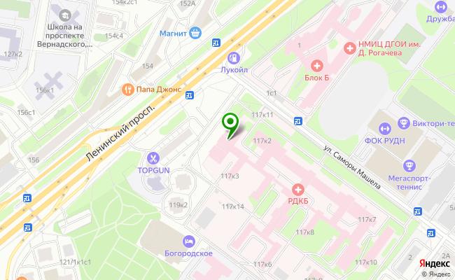 Сбербанк Москва проспект Ленинский 117, корп.1 карта