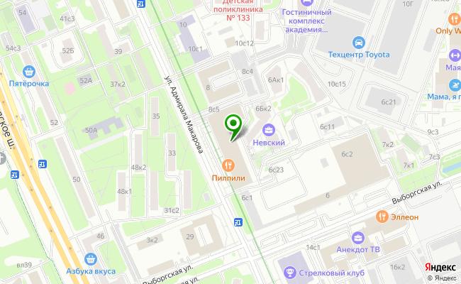 Сбербанк Москва ул. Адмирала Макарова 6, стр.13 карта