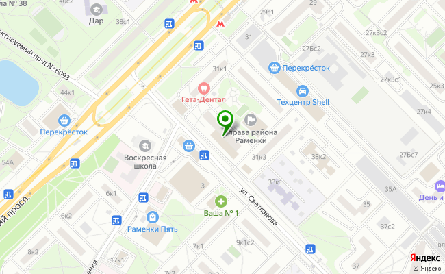 Сбербанк Москва проспект Мичуринский 31, корп.4 карта