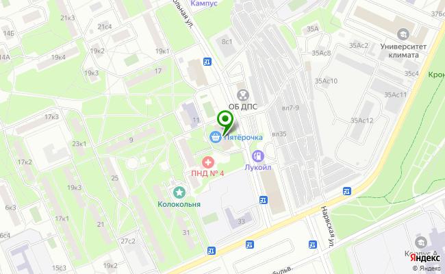 Сбербанк Москва ул. Смольная 7 карта