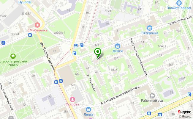 Сбербанк Москва ул. Новопетровская 10 карта