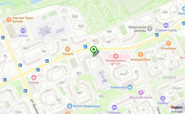 Сбербанк Москва ул. Южнобутовская 91 карта