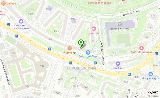 Сбербанк Москва ул. Гризодубовой 4, корп.1 карта