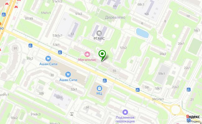 Сбербанк Москва ул. Миклухо-Маклая 55 карта