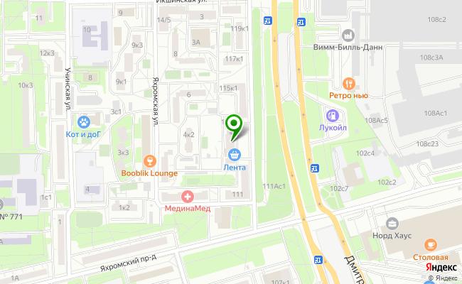 Сбербанк Москва шоссе Дмитровское 113, корп.1 карта