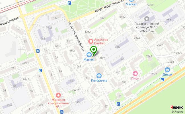 Сбербанк Москва ул. Лихоборские бугры 8 карта