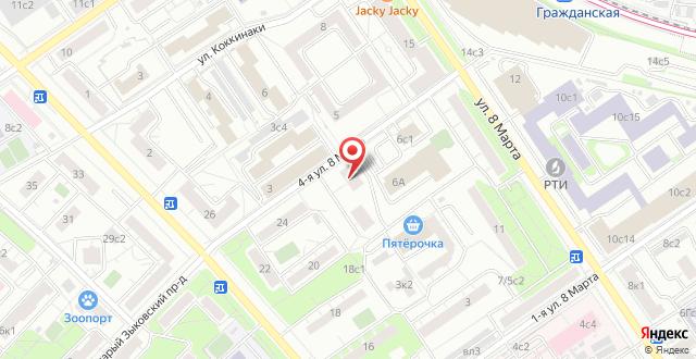 Гостевой дом NMITS Гематологии на карте
