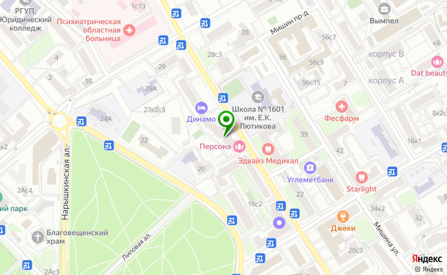 Сбербанк Москва ул. Верхняя Масловка 25, корп.1 карта