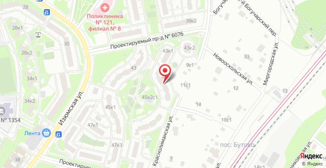 Мини-гостиница 3D Hotel на карте