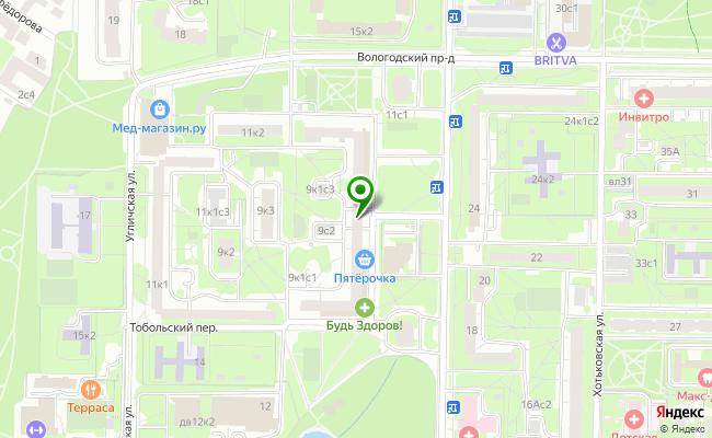 Сбербанк Москва ул. Абрамцевская 9, корп.1 карта