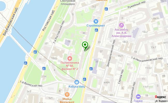 Сбербанк Москва ул. Плющиха 42 карта