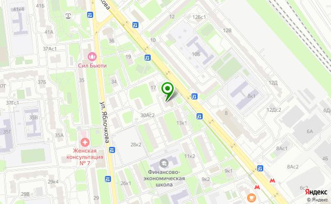 Сбербанк Москва ул. Милашенкова 15 карта