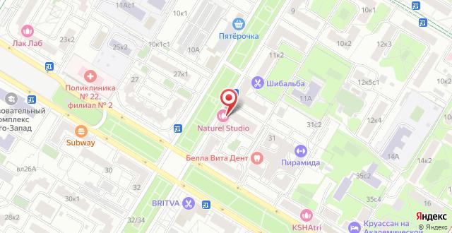 Мини-отель Академик на карте