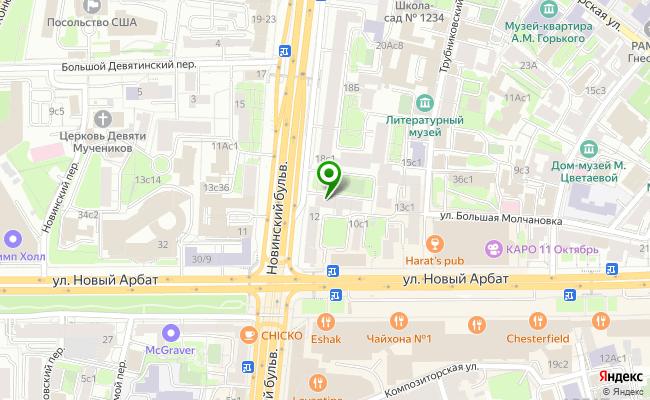 Сбербанк Москва бульвар Новинский 14 карта
