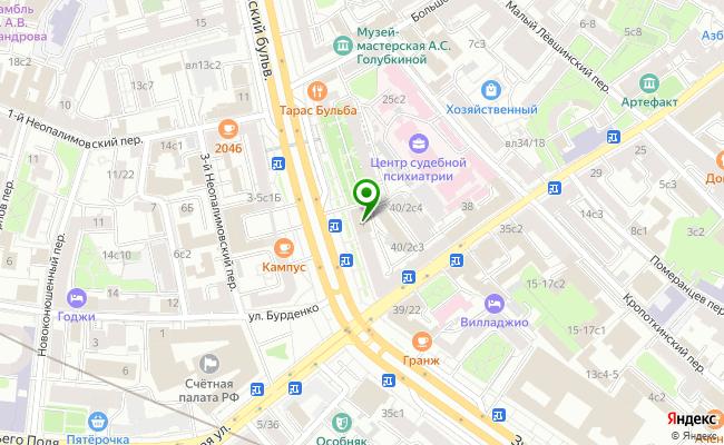 Сбербанк Москва бульвар Смоленский 4 карта