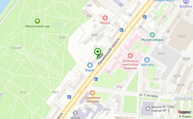 Сбербанк Москва проспект Ленинский 22 карта