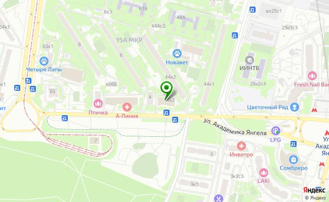 Сбербанк Москва ул. Янгеля Академика 4, корп.2 карта