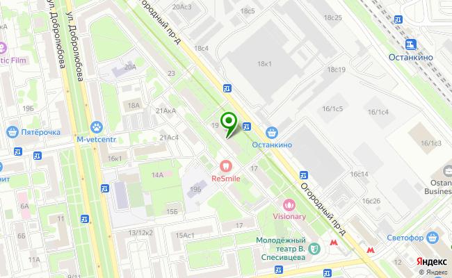 Сбербанк Москва проезд Огородный 19 карта