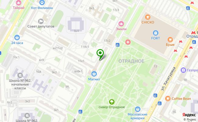 Сбербанк Москва ул. Санникова 13 карта