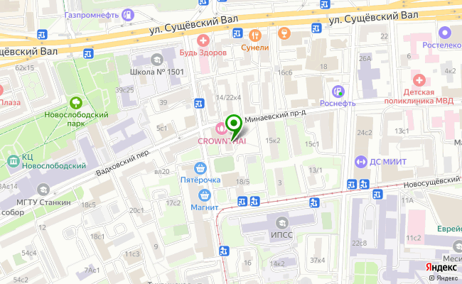 Сбербанк Москва ул. Тихвинская 20 карта