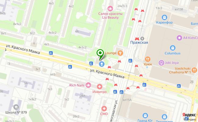 Сбербанк Москва ул. Красного маяка 2 карта